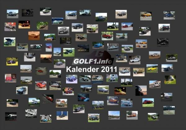 golf1.info Kalender 2011