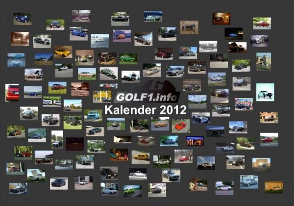 golf1.info Kalender 2012